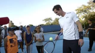 The Andy Murray's #murrica bloopers & gag reel