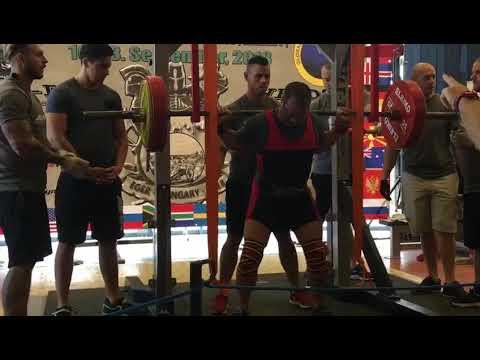 Championnat du Monde 2018 powerlifting Hongrie