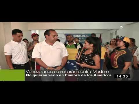 Venezolanos en el Perú se manifestarán contra  Nicolás Maduro el 12 de abril