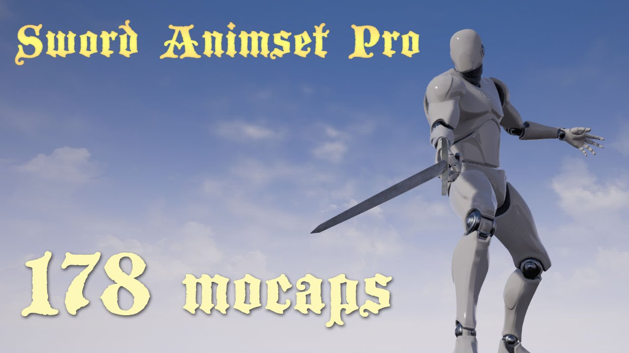 Sword Animset Pro UE4 animation set