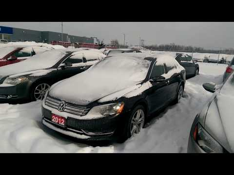 2012 Volkswagen Passat 2.5 liter Cold Start