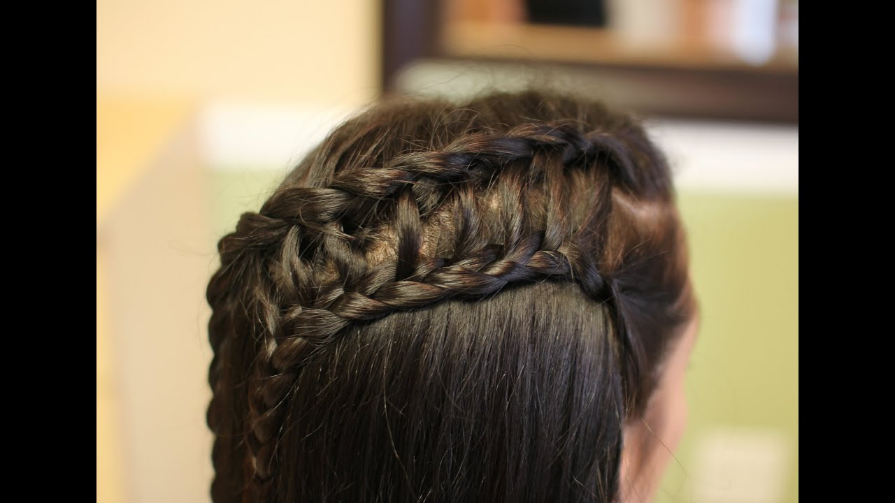 Ladder Braid Hair Tutorial Youtube