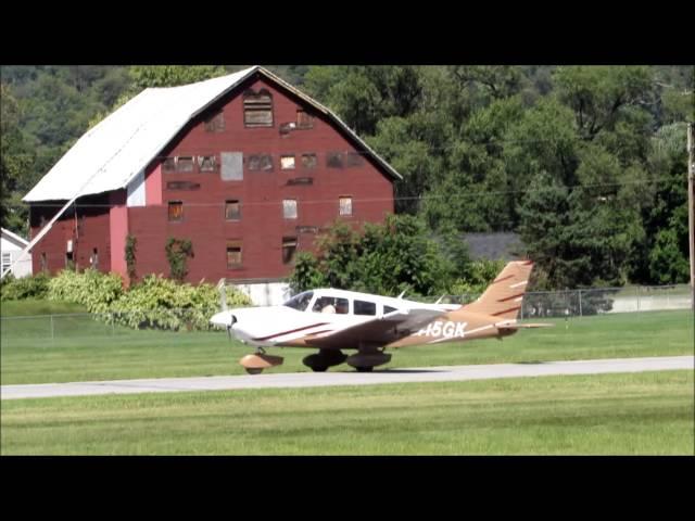 Piper PA-28-181 Archer II Landing at William T. Piper Memorial Airport