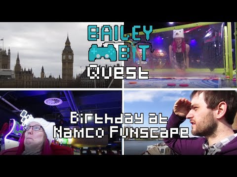 My Birthday at Namco Funscape!