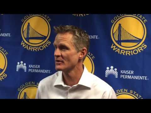 Steve Kerr on the Cavaliers-Warriors rivalry