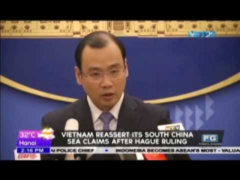 Vietnam reassert its South China Sea claims after Hague ruling