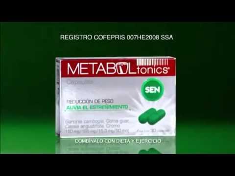 Sirven las pastillas metaboltonics sen para bajar de peso