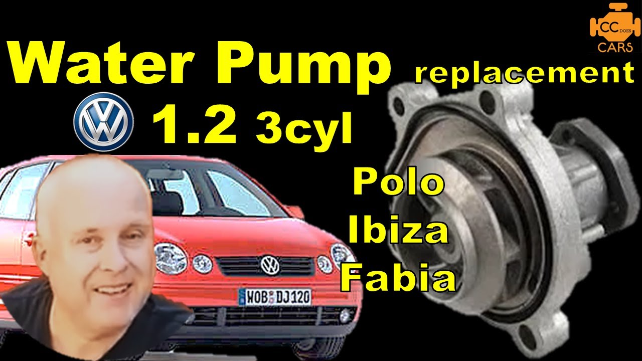 Vw Polo 1 2 Water Pump Replacement How To Diy Youtube