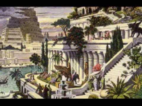 babylon gardens hanging ancient mesopotamia semiramis garden babylonia civilization wonders sumerian today babylonian vs location babel wonder nebuchadnezzar located nineveh