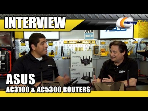 ASUS RT-AC5300 & RT-AC88U Wireless Routers Interview – Newegg TV