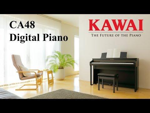 KAWAI CA 48 Digital Piano DEMO - ENGLISH