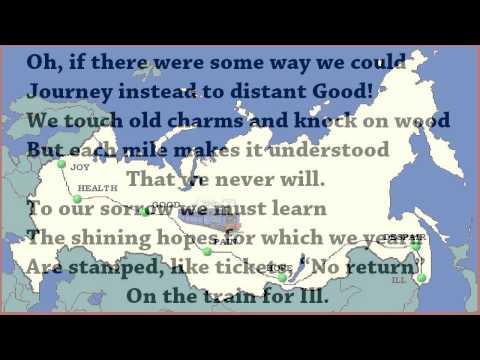 Train for Ill, A Ballad by R S Gwynn (read by Tom O'Bedlam)