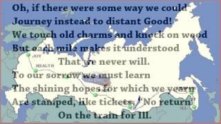 Train for Ill, A Ballad by R S Gwynn (read by Tom O