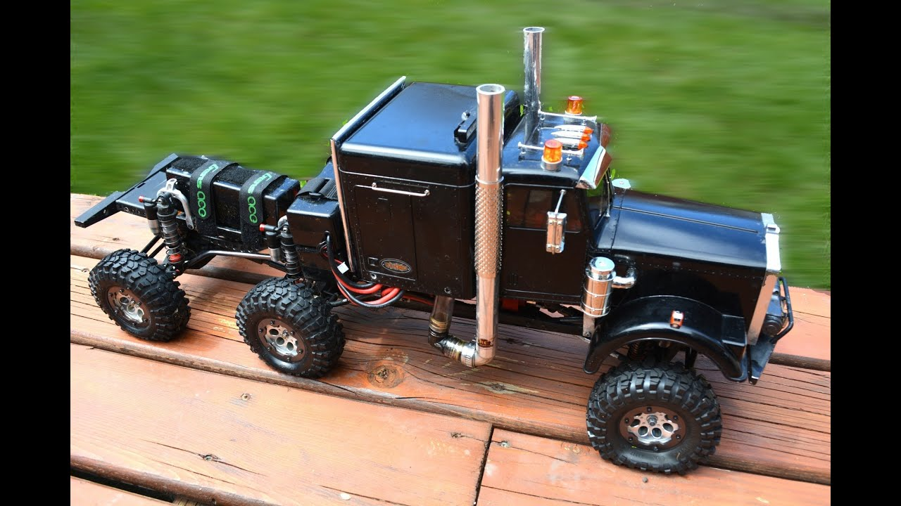 "RC ADVENTURES - 6WD Concept Semi-Truck ""Project HD ..."