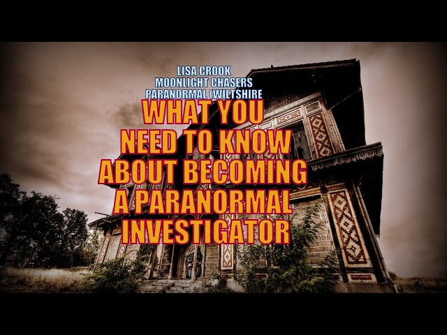 How to get started on your Paranormal Journey, what you need to know.