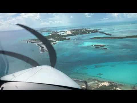 Pilatus PC12NG landing on 3000' Runway, Staniel Cay (MYES), Bahamas