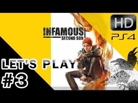 INFAMOUS : SECOND SON - Let's play Episode #3 [PS4] Le poste de contrôle