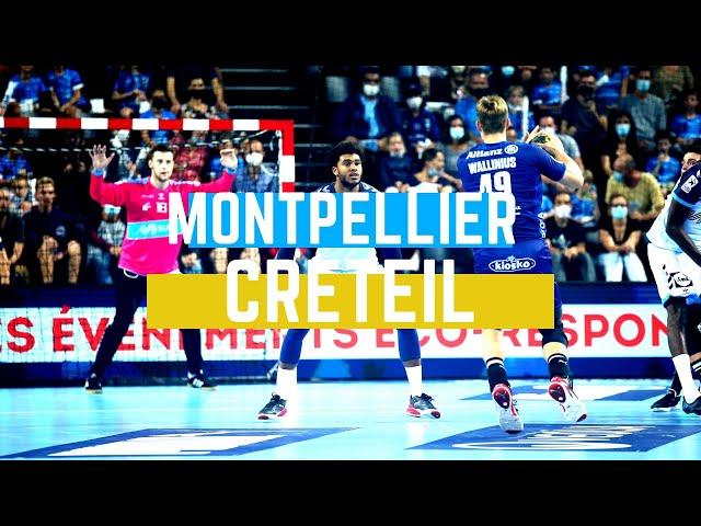 Résumé de Montpellier/Créteil (J04 - Liqui Moly StarLigue)