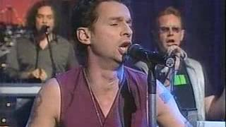 Depeche Mode - Dream On [The Late Show with David Letterman, 2001]