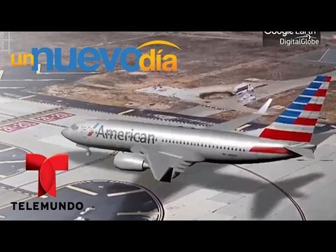 ¡Harrison Ford casi choca con un avión de pasajeros!   Un Nuevo Día   Telemundo