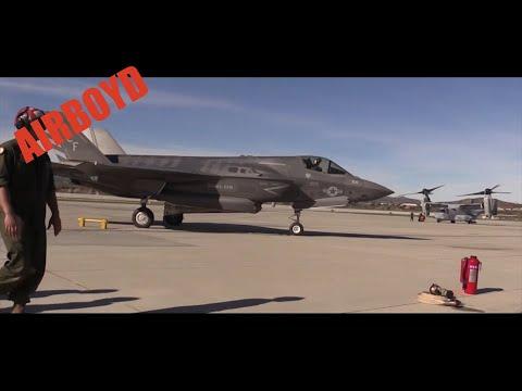 F-35B Lightning II Pit Stop - Camp Pendleton