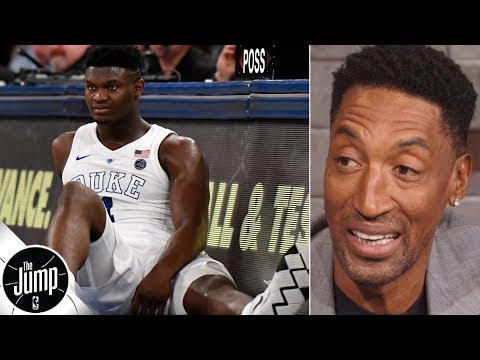 Zion Williamson should 'shut it down' for the season, focus on NBA draft - Scottie Pippen | The Jump