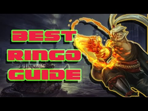 BEST RINGO GUIDE | VAINGLORY | CARRY YOUR GAMES WP AND CP!