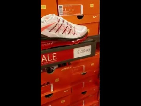 At Tanger outlets (Nike store) part 1