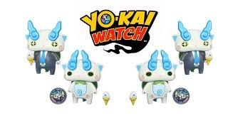 Yo-Kai Watch Komasan Figure from Hasbro / Йокай Вотч Комасан фигурка и медаль