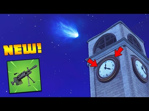 *NEW UPDATE* April 18th... Today is 'The Day' - NEW LMG & 50vs50 v2 (Fortnite Battle Royale)