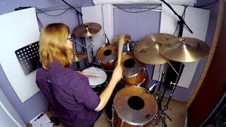 Raven - Taylor Mills - Drum Cover