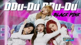 HOT BLACKPINK DDU DU DDU DU 블랙핑크 뚜두뚜두 Show Music core 20180630