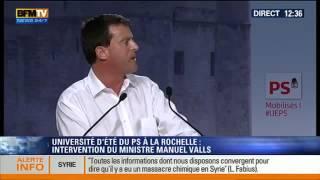 Manuel Valls S'attaque à Alain Soral Et Dieudonné