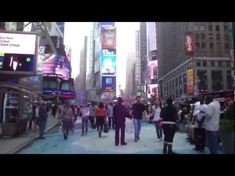 Street Scenes of Midtown Manhattan, New York City