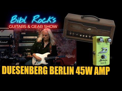 BIBL ROCKS - Duesenberg Berlin 45W/ Treble B Pedal - Talk&Jam