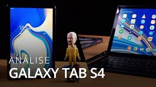 Galaxy Tab S4, notebook Android ou tablet? [Análise / Review]