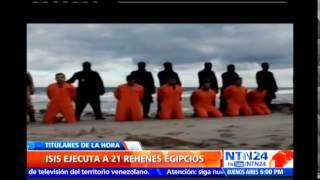 Estado Islámico anuncia en un video la decapitación de egipcios cristianos coptos en Libia