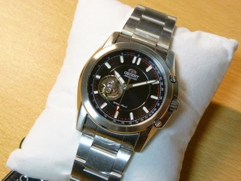 Orient  STI Commuter CDB02004B Open Heart Automatic Watch Review [HD]