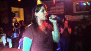Me Singing Fallin' Karaoke Live