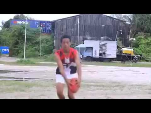 Nauru Junior Footy Event AFL Highlights