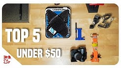 Top 5 Motorcycle Accessories under $50 (NEW!!)