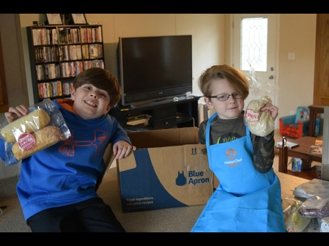 Kids In The Kitchen | MasterChef Junior And Blue Apron   YouTube