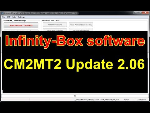 Infinity Box Install CM2 MT2 V2.06 Latest Update 2019