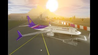 ROBLOX Flying Bangkok International Airport