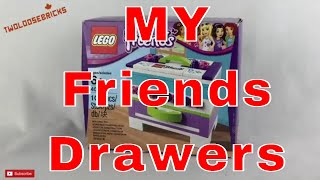 LEGO Friends Promo Set 40266 Chest of Drawers REVIEW !
