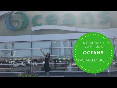 A Dietitian's Grocery Haul At Oceans Asian Supermarket - Top Vegetable, Fruit, And Gluten-Free Finds