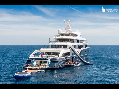 [BERNARD ARNAULT]: His Amazing US$ 150,000,000 Yacht SYMPHONY - near Antibes