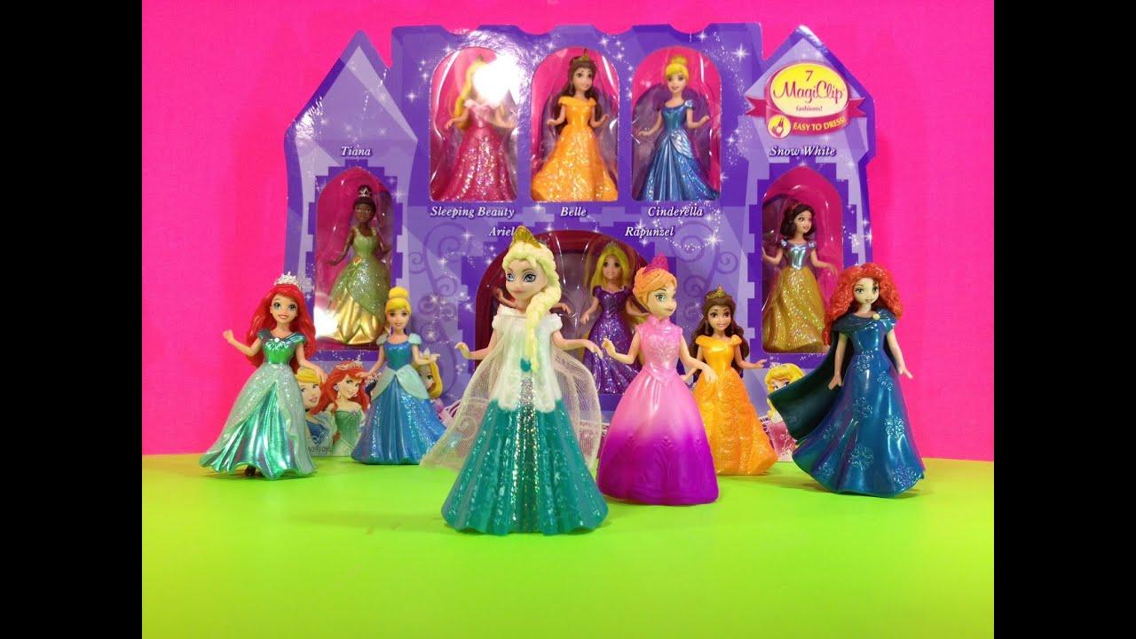 Princess Magiclip Collection Princess Doll Collection Toys