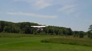 Repeat youtube video Soloy Turbine 206 taking off from our 2000 foot grass strip