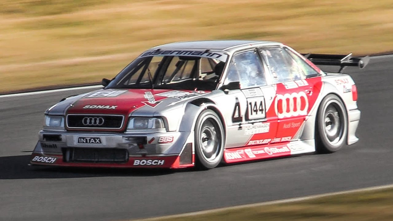 widebody audi 80 b4 competition turbo race car in action. Black Bedroom Furniture Sets. Home Design Ideas